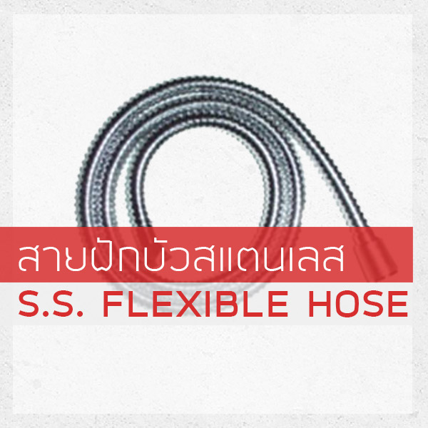 S.S. FLEXIBLE HOSE